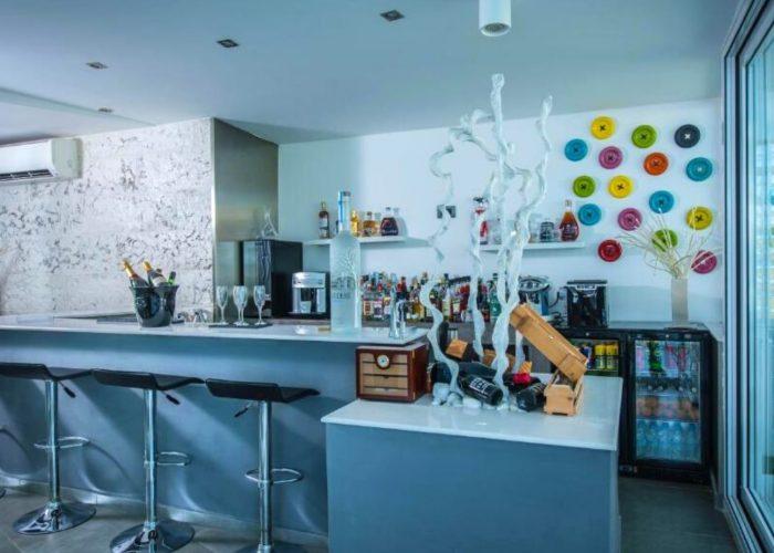 White Luxury Villa Kitchen