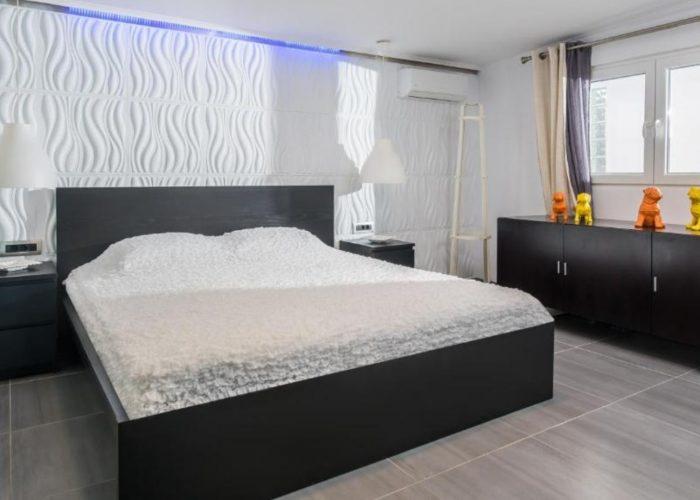White Luxury Villa Bedroom